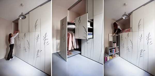 8-sqm-Parisian-Apartment-with-Hidden-Facilities (4)