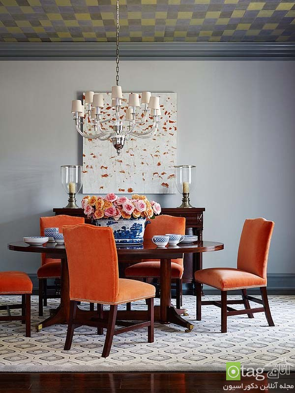 Beautiful-orange-in-dining-room-decoration (13)