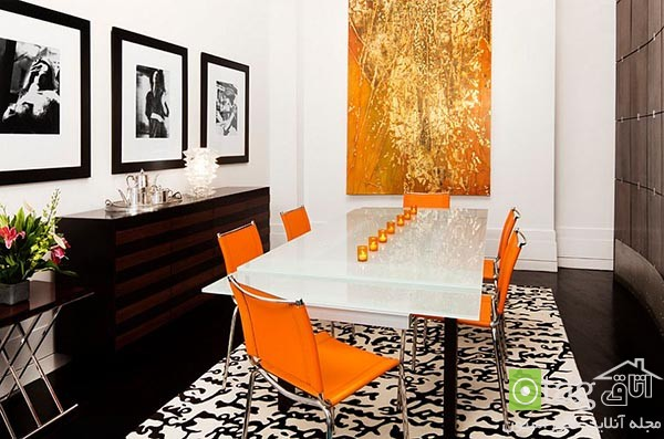 Beautiful-orange-in-dining-room-decoration (15)