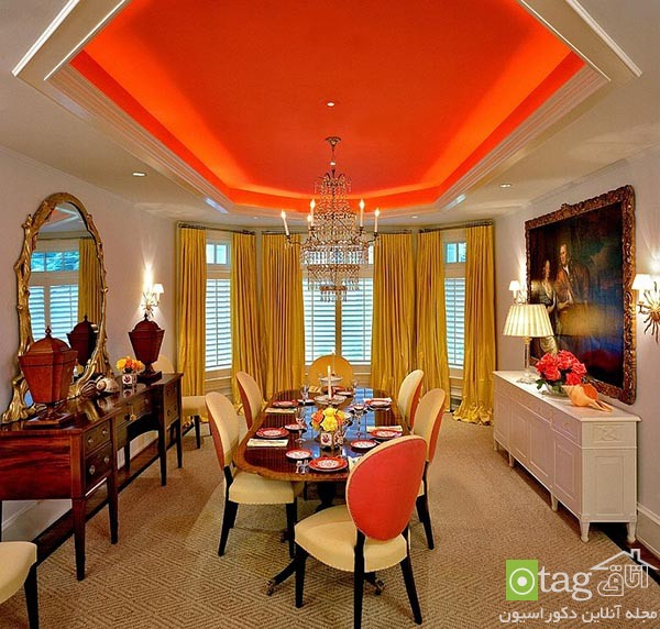 Beautiful-orange-in-dining-room-decoration (2)