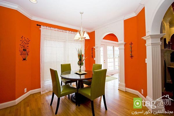 Beautiful-orange-in-dining-room-decoration (3)