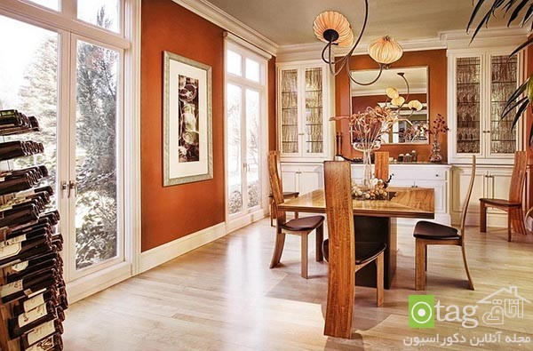 Beautiful-orange-in-dining-room-decoration (4)
