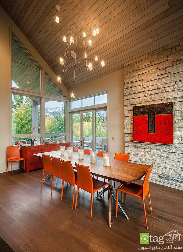 Beautiful-orange-in-dining-room-decoration (8)