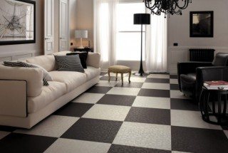 Black-white-living-room-checkered-floor-tiles-665x456