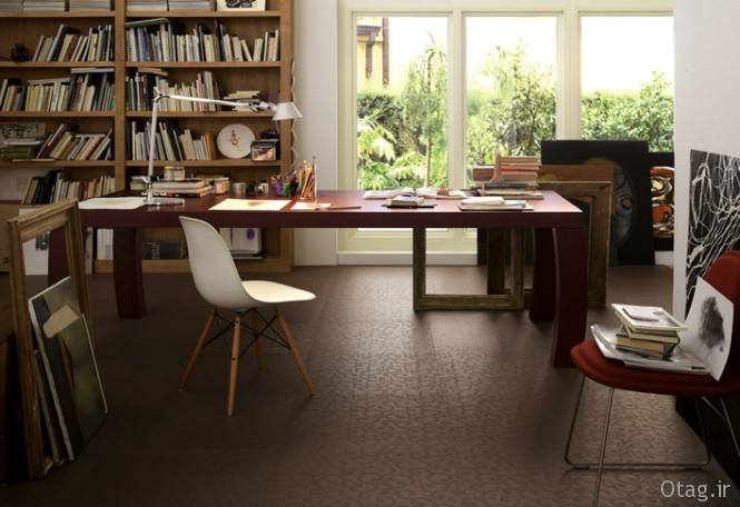 Brown-patterned-ceramic-floor-tiles-home-office-665x456