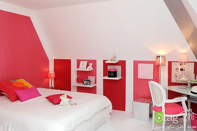 Cheerful-and-chic-kids-room-with-red-accent (8)
