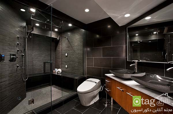 Contemporary-bathroom-in-shades-of-black (12)
