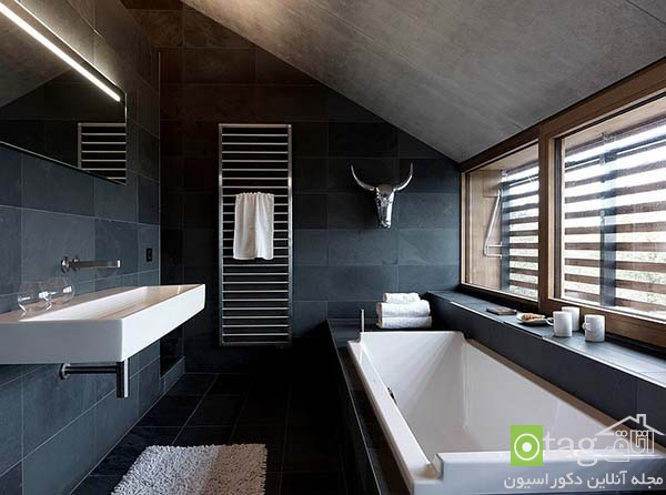 Contemporary-bathroom-in-shades-of-black (18)