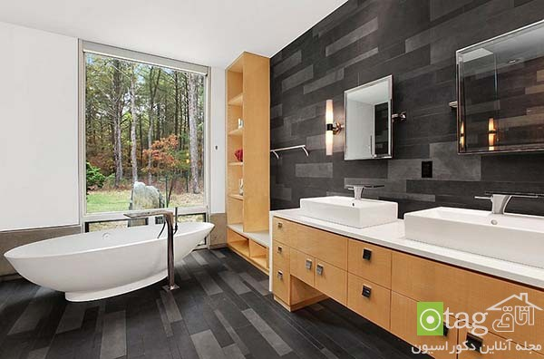 Contemporary-bathroom-in-shades-of-black (19)