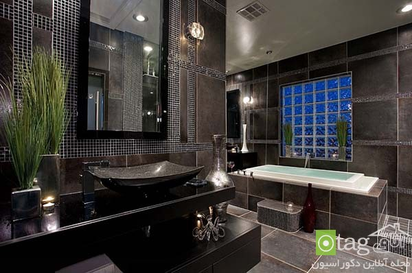Contemporary-bathroom-in-shades-of-black (5)