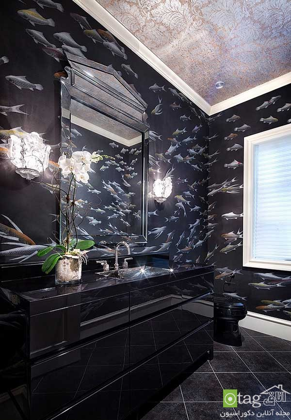 Contemporary-bathroom-in-shades-of-black (7)