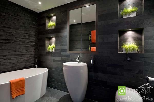 Contemporary-bathroom-in-shades-of-black (8)