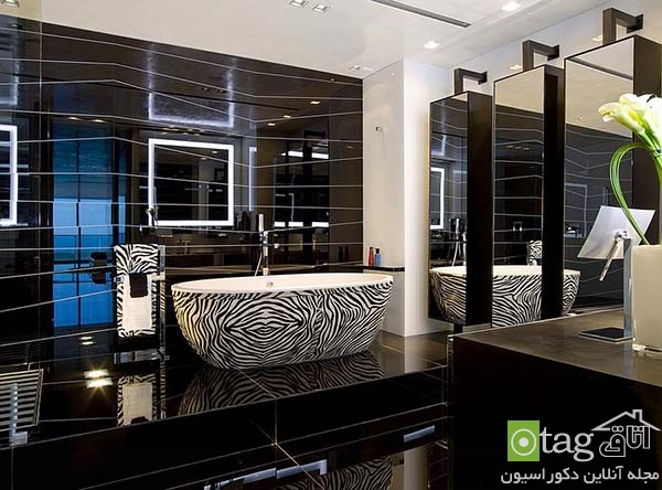 Contemporary-bathroom-in-shades-of-black (9)