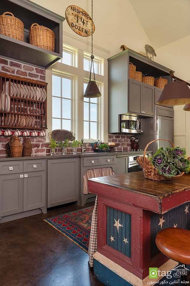 Contemporary-kitchen-with-brick-walls (9)