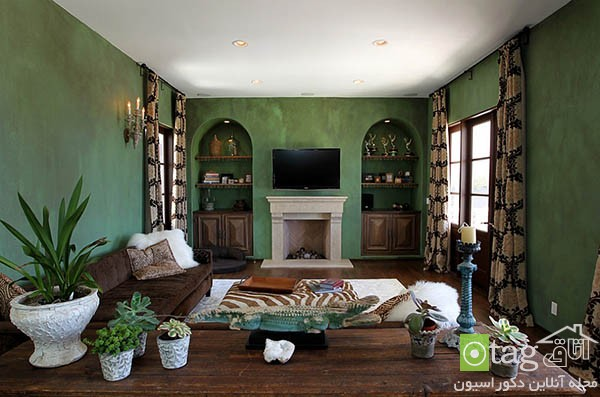Contemporary-living-room-with-shades-of-green (10)