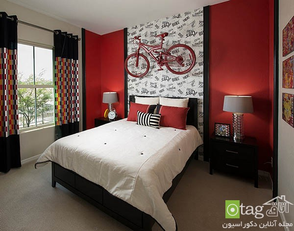 Contemporary-red-bedroom-design-ideas (9)