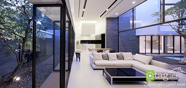 Modern-Home-Layouts-with-pool-in -courtyard (6)