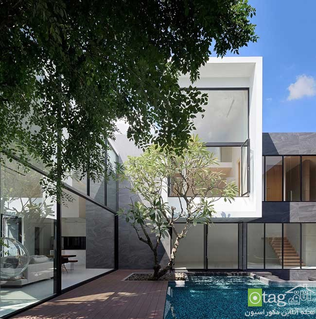Modern-Home-Layouts-with-pool-in -courtyard (7)