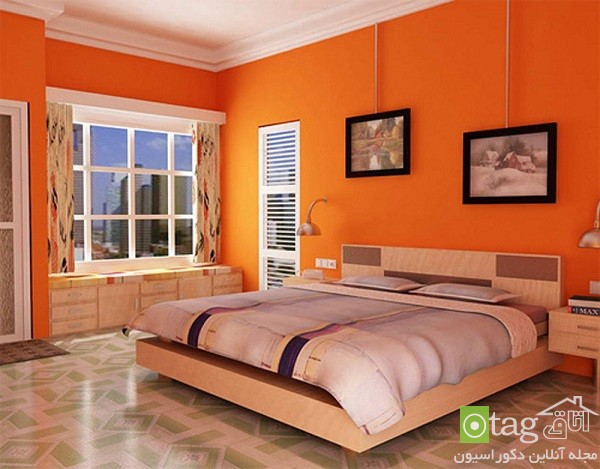 Orange-Bedroom-design-ideas (2)