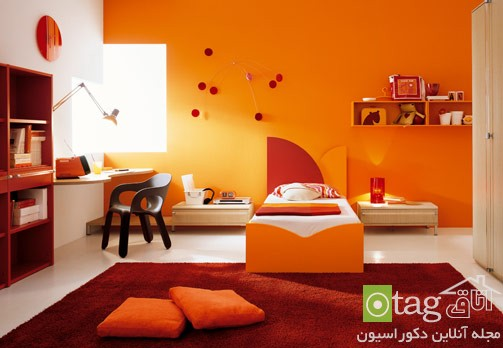 Orange-Bedroom-design-ideas (7)
