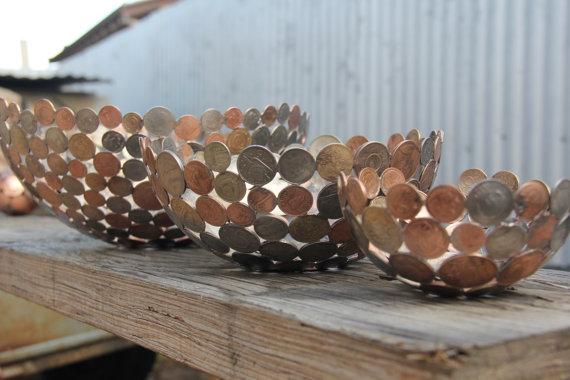 Sculptures-Made-By-Using-Keys-and-Coins (12)