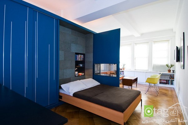 Small-Apartment-Bedroom-Design-with-Folding-Beds (1)