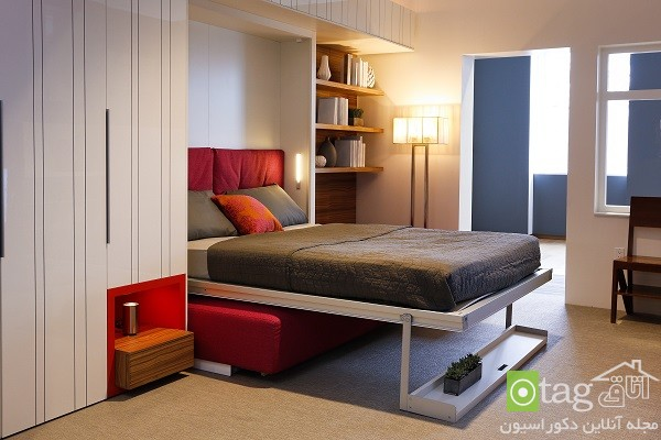 Small-Apartment-Bedroom-Design-with-Folding-Beds (11)