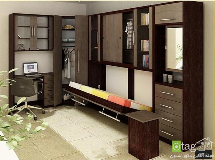 Small-Apartment-Bedroom-Design-with-Folding-Beds (4)
