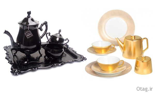 black-and-gold-tea-set