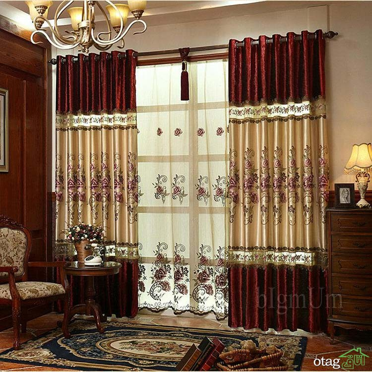 embroidered-pastoral-curtain-blackout-curtains