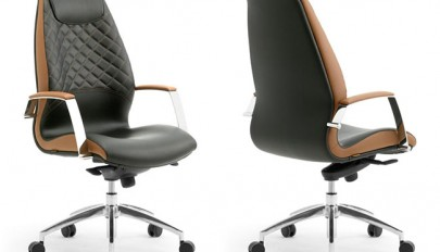 Black Brown Office Chair Minimalist Home Office Furniture - Home Design Trends 2016