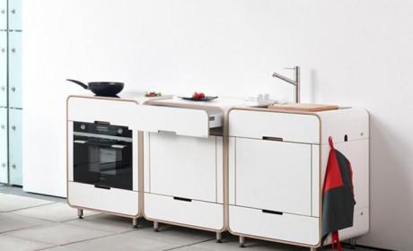 مدل های آماده آشپزخانه بسیار کوچک قابل استفاده در هر فضایی
