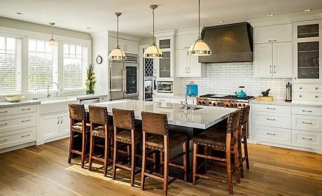 راهنمای چیدمان آشپزخانه شیک با تکنیک های 2018 + [عکس چیدمان مدرن آشپزخانه]