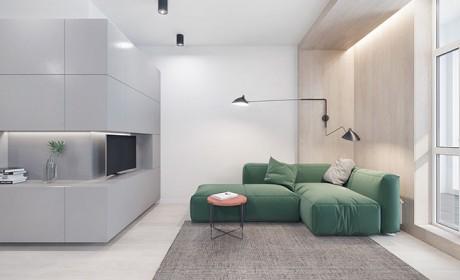 بررسی دکوراسیون داخلی سه دستگاه آپارتمان شیک کوچک و زیبا