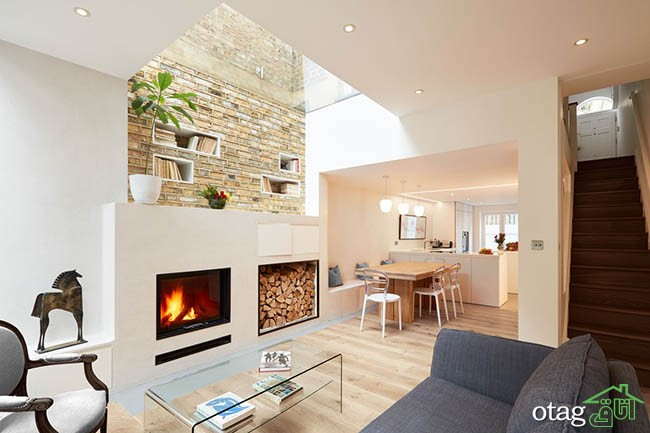 Architectural Photography of Islington home, by London Architectural and Interiors photographer, Matt Clayton