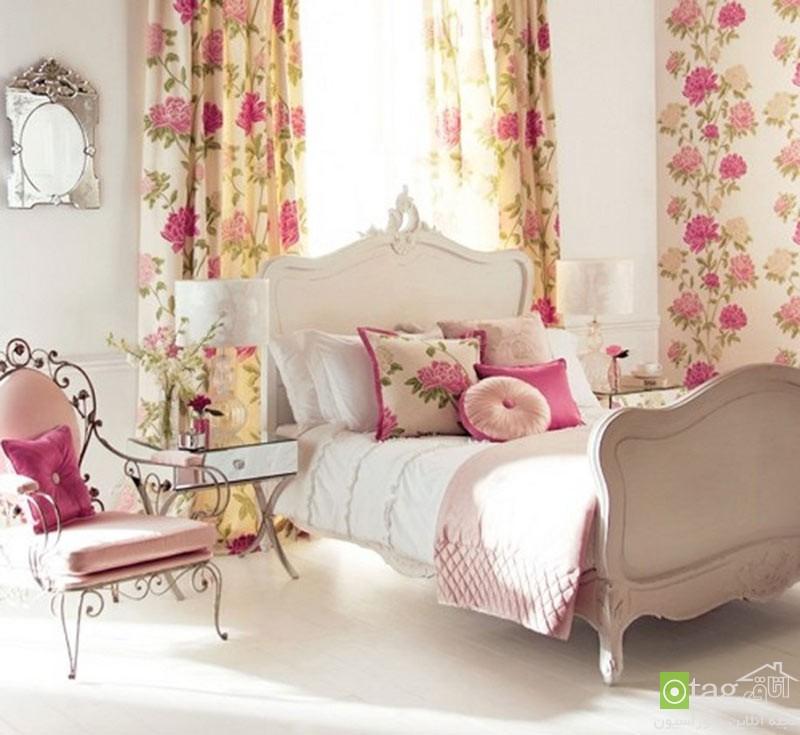 اتاق خواب رمانتیک و عاشقانه (1)