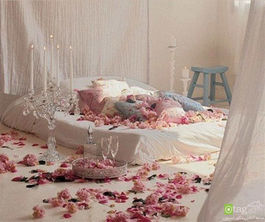 اتاق خواب رمانتیک و عاشقانه (2)