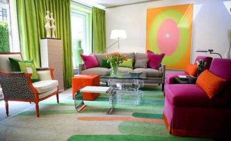 نحوه ترکیب رنگها در دکوراسیون منزل[ بهمراه 30 مدل عکس ]