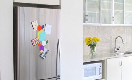 آموزش تزیین درب یخچال با وسایل ساده و کاغذی ساخت خودتان
