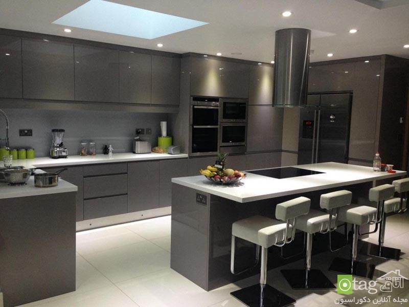 تصاویر و مدل کابینت جدید آشپزخانه اروپایی در سال جدید (4)