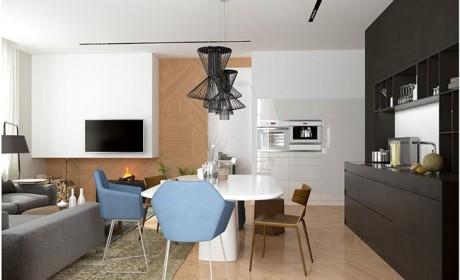 عکس های جدید از دکوراسیون آپارتمانهای خیلی کوچک زیر 50 متر