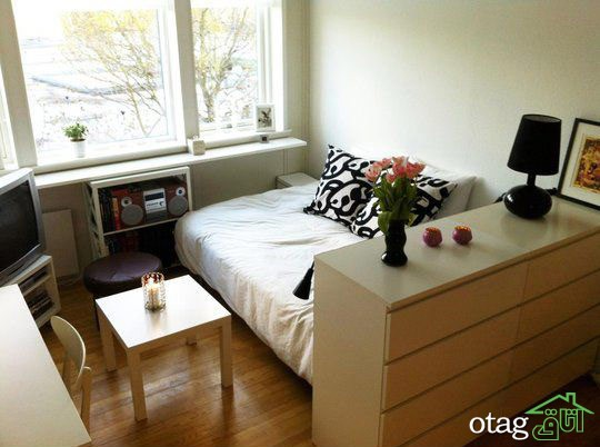 دکوراسیون آپارتمان کوچک (1)