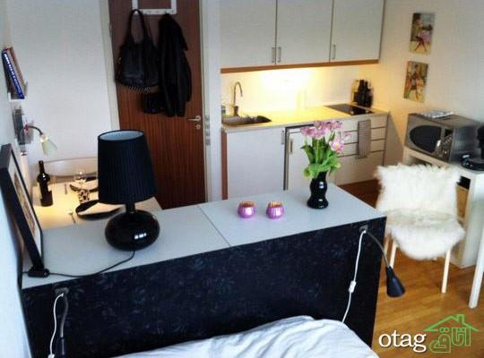 دکوراسیون آپارتمان کوچک (2)