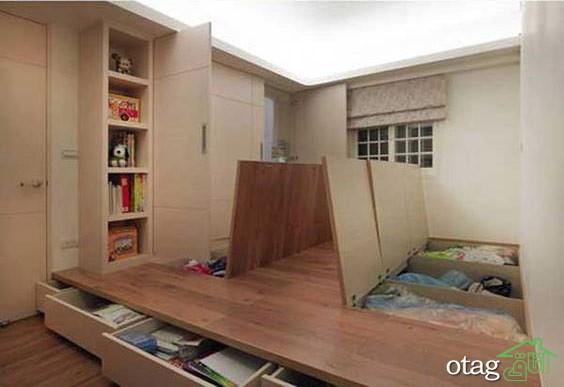 دکوراسیون آپارتمان کوچک (9)