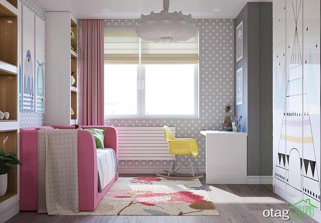 دکوراسیون-اتاق-خواب-دخترانه-شیک (10)