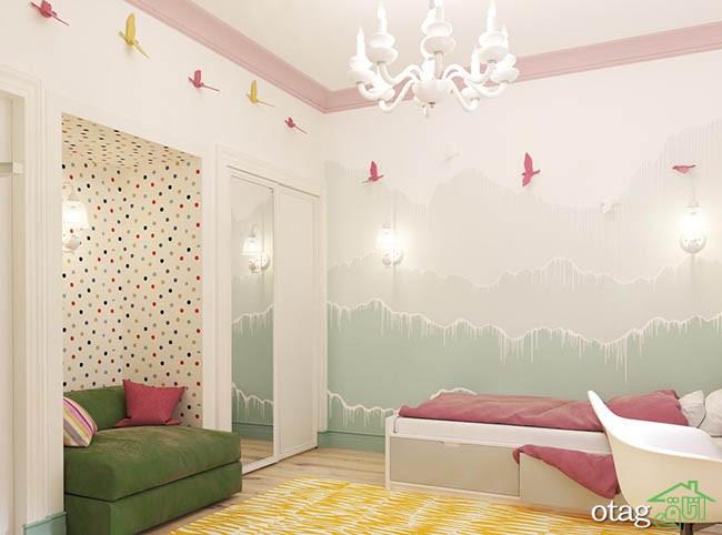 دکوراسیون-اتاق-خواب-دخترانه-شیک (4)