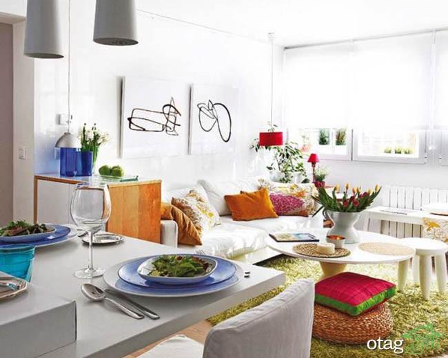 دکوراسیون-خانه-های-کوچک-آپارتمانی (17)