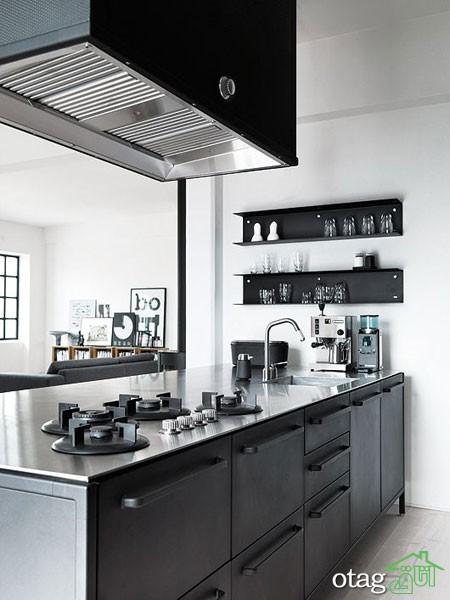 دکوراسیون متالیک آشپزخانه (3)