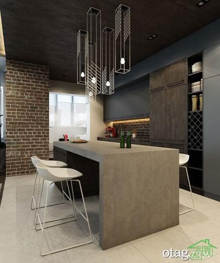 دکوراسیون متالیک آشپزخانه (5)