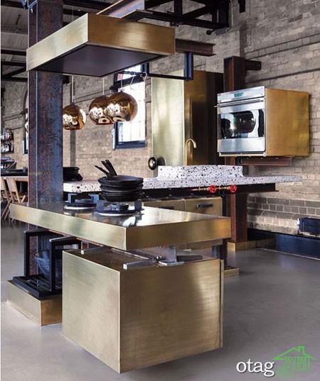 دکوراسیون متالیک آشپزخانه (6)